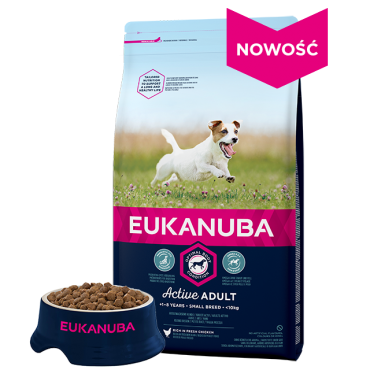 EUKANUBA Active Small Breed 3kg