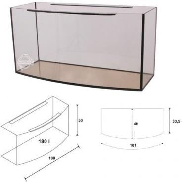 Akwarium Wromak profil 180L (100x40x50h)