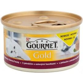 Gourmet Gold Jagnięcina z zieloną fasolą 85g