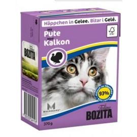 BOZITA dla kota z Indykiem kawałki w galaretce kartonik 370g
