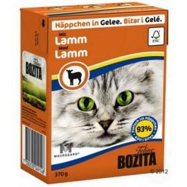 BOZITA dla kota z Jagnięciną kawałki w galaretce kartonik 370g