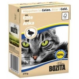 BOZITA dla kota z Kaczką kawałki w galaretce kartonik 370g