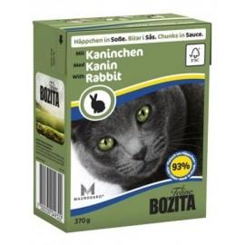 BOZITA dla kota z Królikiem kawałki w sosie kartonik 370g