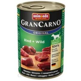 ANIMONDA GRANCARNO 400gr (wołowina + dziczyzna)