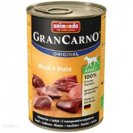 ANIMONDA GRANCARNO 400gr (wołowina + indyk)