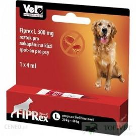 """Fiprex Pies """"L"""" 20-40kg (4ml)"""