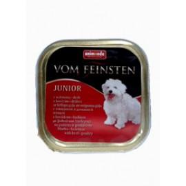 Animonda Vom Feinsten Junior 150gr (wołowina + kurczak)