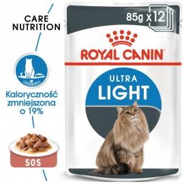 Royal Canin Ultra Light w sosie